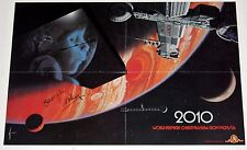 2010 Space Sci Fi Movie 1983 Poster Advance Sample Roy Scheider Arthur Clarke