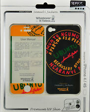 Whatever It Takes Samuel L Jackson Front/Back Protective Skin for iPhone 4 / 4S