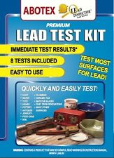 LEAD INSPECTOR LEAD TEST KIT for Toys, Paint,Ceramic, Soil, ... 8 Pk by Abotex