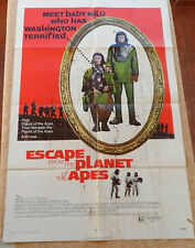 ESCAPE FROM THE PLANET OF THE APES movie poster, original, folded, 1 Sheet, 1971