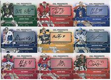 46 different 2012-13 ITG Between The Pipes Hockey CHL Prospects Auto Card Lot