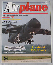 Airplane Issue 12 Lockheed C-5 Galaxy Cutaway & poster, Boeing 727