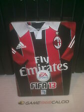FIFA 13 STEEL BOX MILAN PS3 XBOX 360 PC NUOVA SCATOLA METALLICA RARA