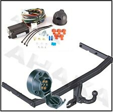 Towbar & Electrics 7pin 12N VW Touran 2003 to 2010 / swan neck Tow Bar