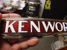 KENWORTH Hood Plate Medallion Cloisonne BEAUTIFUL 1930s - ?