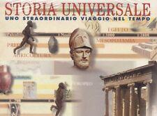 STORIA UNIVERSALE STRAORDINARIO VIAGGIO NEL TEMPO (libro + cd rom) mondadori #