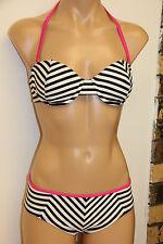 NWT Guess Swimsuit Brief Bikini 2 pc Set Sz S Removable Strap