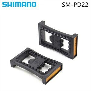SHIMANO SM-PD22 Grampo SPD Pedal MTB mountain bike pedal PD22 Plana sPedais