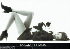 PUBLICITE ADVERTISING 046  1987  Maud Frizon boots chaussures (2p) D. Issermann