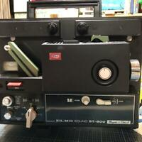 ELMO 8 mm ST-800 movie projector Vintage Home Video Equipment From Japan (M2128)