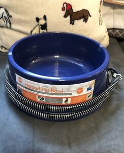NEW K&H Pet Products Thermal-Bowl Large Heated PET WATER BOWL Dog Cat