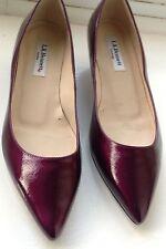 L.K. Bennett Púrpura Oscuro Zapatos de mujer. Talla 4UK/37EU