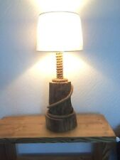 Nautical Wooden 41cm-60cm Height Lamps