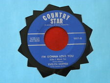 EVELYN HOPPER~ I'M GONNA LOVE YOU~ A KILLER~ WHEN THE LEAVES ~~ ROCKABILLY 45