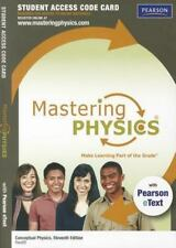 Mastering Physics by Paul G. Hewitt and Pearson Staff (2011, E-book / Mixed Medi