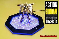 Gundam MECHANICAL CHAIN ACTION LED BASE Machine Nest MG HG TV For 1/144 1/100