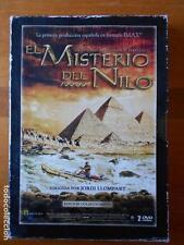DVD EL MISTERIO DEL NILO -EDICION COLECCIONISTA (2 DISCOS) -LEER DESCRIPCION (F4