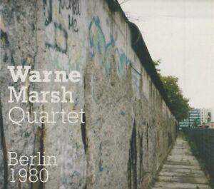 CD Warne Marsh Quartet - Berlin 1980