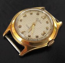 Vintage BIFORA Shockproof 20Mikrons Gold Plated B934 German Wristwatch from50's