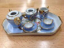 Limoges France Porcelain Miniature Tea Set