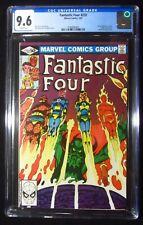 Fantastic Four #232 CGC 9.6..1st full John Byrne issue..Diablo & Dr. Strange app