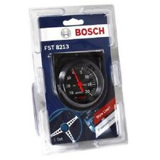 "Bosch Style Line 2"" Mechanical Vacuum/Boost Gauge (Black) Fst8213 D4"