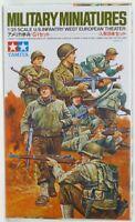 Tamiya 1/35 Echelle U.S.Infanterie Ww2 Guerre Mondiale Théâtre Européen
