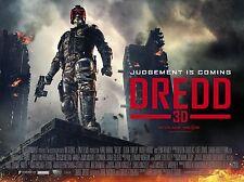 "Dredd 3d 16"" x 12"" Reproduction Movie Poster Photograph"