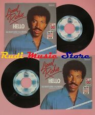 LP 45 7'' LIONEL RICHIE Hello All night long 1983 germany MOTOWN no cd mc dvd