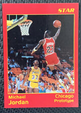 MICHAEL JORDAN STAR PROTOTYPE CARD, CHICAGO BULLS LAST DANCE