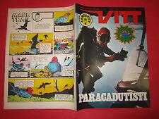 SETTIMANALE VITT N°35-AGOSTO 1969  INSERTO VITT AVVENTURA N°35 DE ANDRE' COMBIN