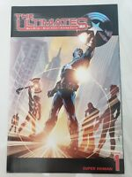 THE ULTIMATES #1 (2002) MARVEL COMICS MARK MILLAR! BRYAN HITCH! CAPTAIN AMERICA!