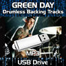GREEN DAY MP3 ROCK DRUMLESS DRUMS BACKING TRACKS COLLECTION ON USB