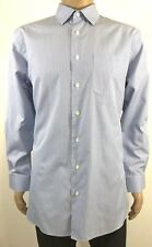 John W. Nordstrom Size 16 1/2 34 Tailored Fit L/S Button Front Dress Shirt