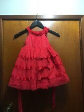 MANGO RED PARTY DRESS SZ 1 BNWT FREE POSTAGE (F8)