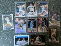 Dodgers Clayton Kershaw 11 Card lot led by RARE 288 of 349 2018 Crystals AllStar
