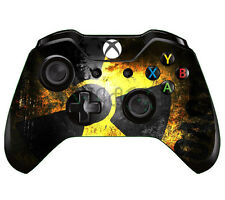 Black Yellow Custom 1PC Skin for Xbox ONE Controller Sticker Decals #68