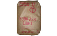 Sodium Carbonate Soda Ash Light Na2co3 Nsf 992 White Crystals 50 Lb Bag