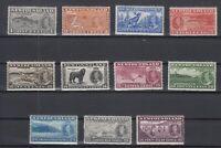 AN5421/ NEWFOUNDLAND – SG # 257 / 267 COMPLETE MINT MH – CV 80 $