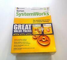 Symantec Norton System Works & Personal Firewall 2002 Windows antivirus Vintage