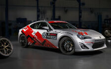 """TOYOTA 86 PRO AM A2 CANVAS PRINT POSTER FRAMED 23.4""""x15.4"""""""