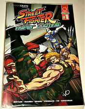 Street Fighter Hyper Looting Loot Crate Comic Book #1 Exclusive NOS New Sealed