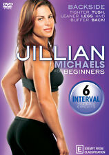 Jillian Michaels: For Beginners - Backside  - DVD - NEW Region 4