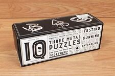 Professor Puzzle Three Metal Puzzles - Cunning Claws & More! Have You Got it?