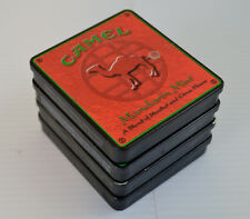 Lot of four Camel Cigarette Tin Mandarin Mint