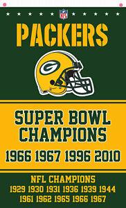 Green Bay Packers Football Champion Memorable flag 90x150cm 3x5ft best banner 1