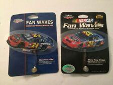 2004 wincraft nascar nextel fan waves # 24 jeff gordon lot