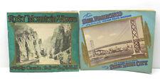 1944 Western Pacific Railroad+1943 Denver & Rio Grande R/R Passenger View Books