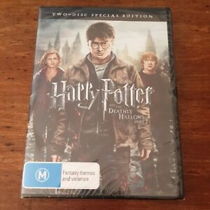 Harry Potter and the Deathly Hallows Part 2 DVD R4 BRAND NEW SEALED! FREE POST