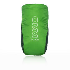 OMM Unisex Go Pod Stash Pouch - Green Sports Running Breathable Lightweight